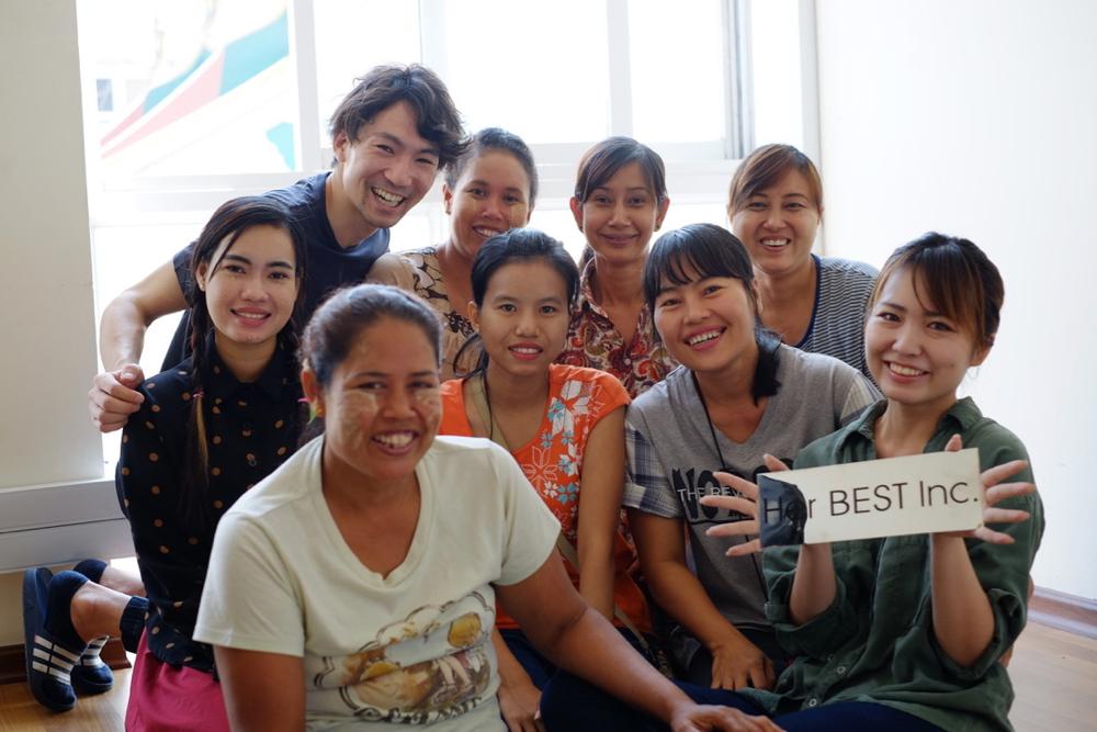ミャンマー家政婦